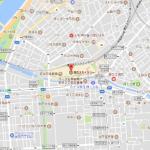 GoogleMap(グーグルマップ)を印刷すると文字がぼやけたり薄いときの対処事例。範囲を指定して印刷したいときはどうする?